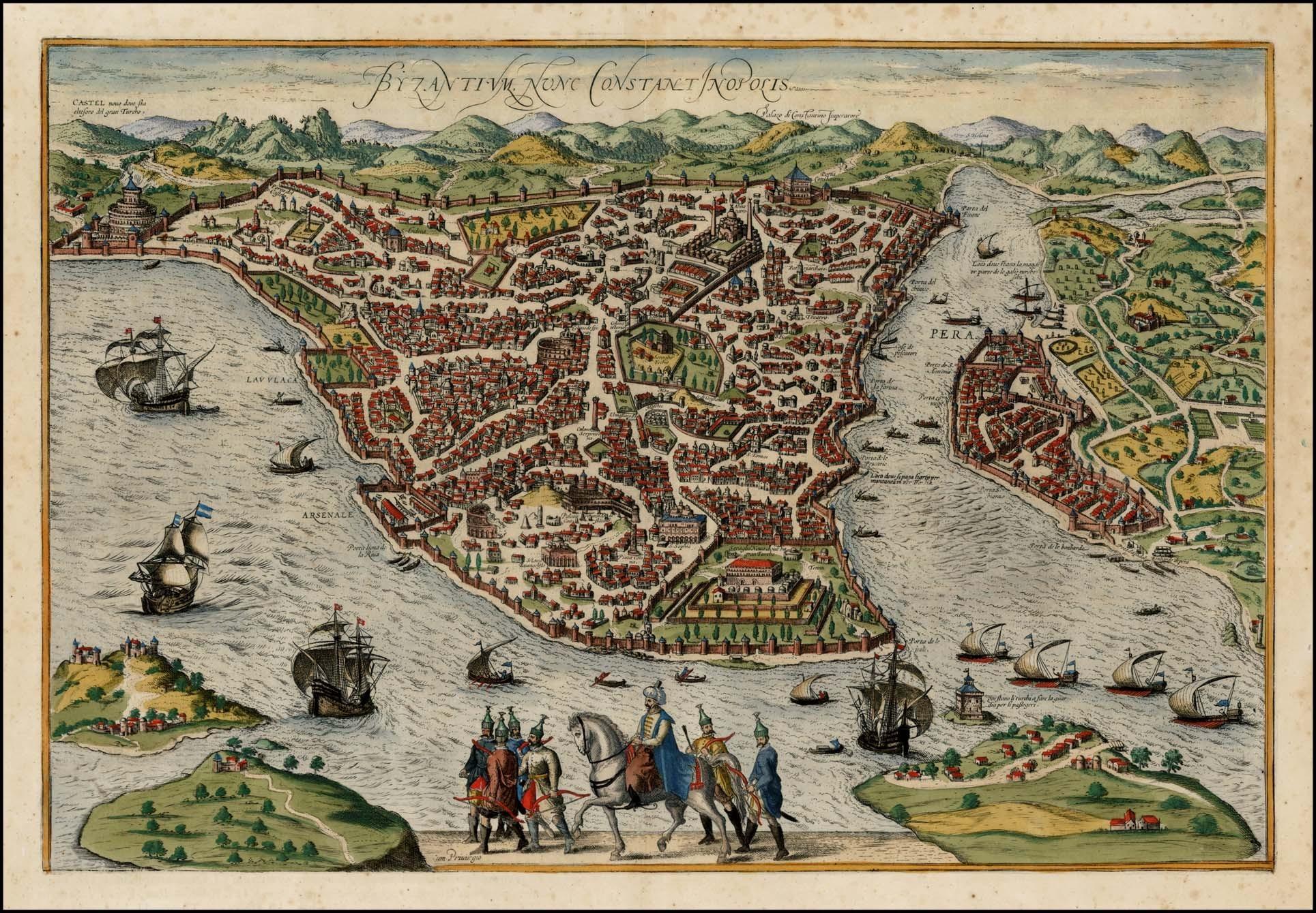 regional metropolis constantinople and tenochtitlan essay